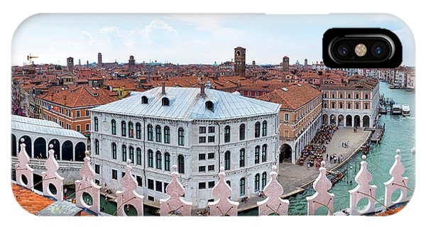 IPhone Case featuring the photograph Venice Rooftops by Fabrizio Troiani