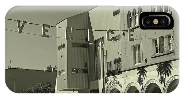 Venice Sign IPhone Case