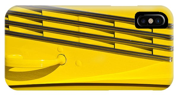 Vented Chrome To Yellow IPhone Case