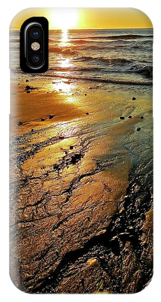 Ventura Beach Winter Sunset IPhone Case