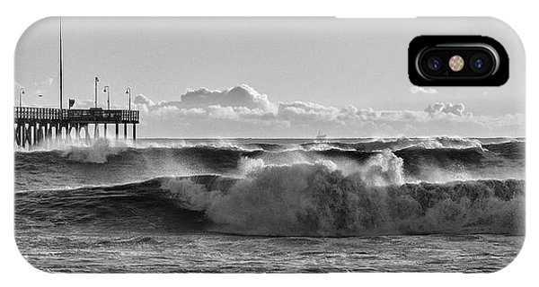 Ventura Pier El Nino 2016 IPhone Case