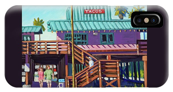 Ventura Pier - Tacos IPhone Case