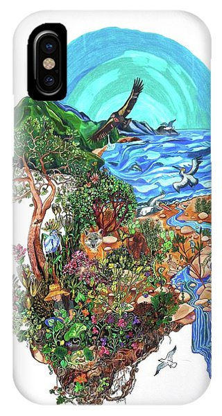 Pacific Ocean iPhone Case - Ventura River Watershed by Sarah Holst