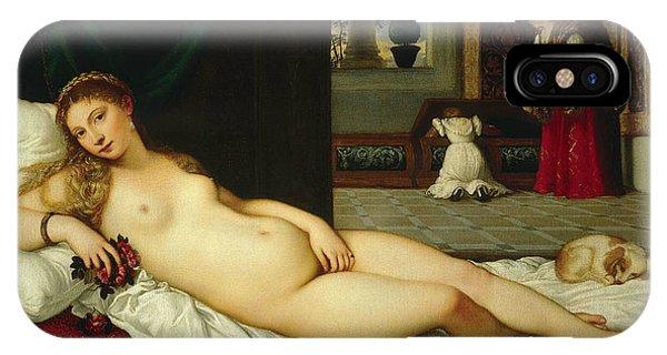 Venus Of Urbino  IPhone Case