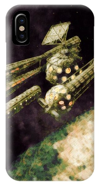 Venus Research Station IPhone Case