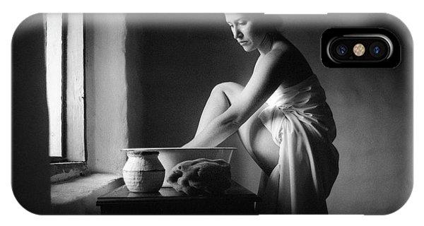 Vermeer Footwasher IPhone Case