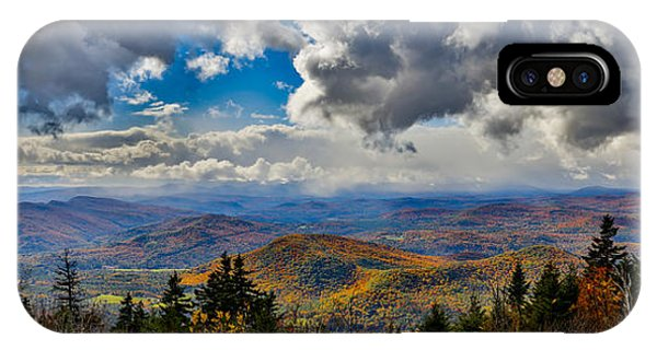 Vermont Autumn From Mt. Ascutney IPhone Case