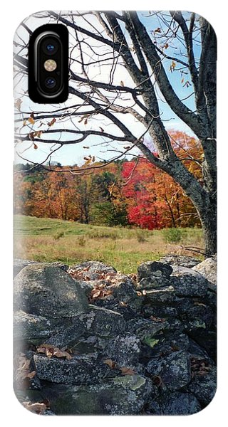 Vermont Autumn IPhone Case