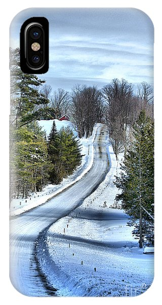 Vermont Country Landscape IPhone Case