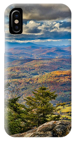 Vermont Foliage From Mt. Ascutney IPhone Case