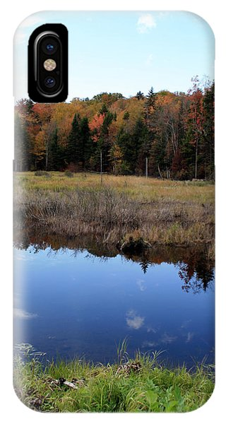 Vermont Reflections 1 Phone Case by George Jones