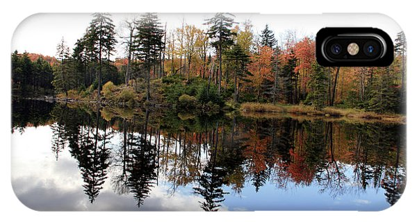 Vermont Reflections 2 Phone Case by George Jones