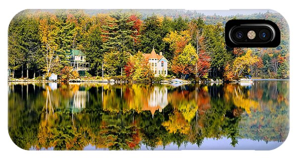 Vermont Reflections IPhone Case