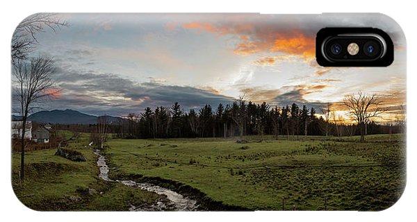 Vermont Sunset IPhone Case