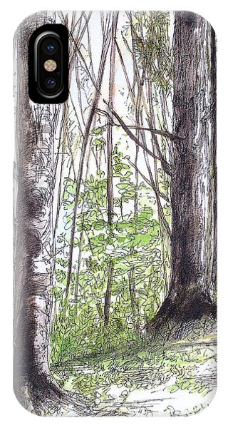 Vermont Woods IPhone Case