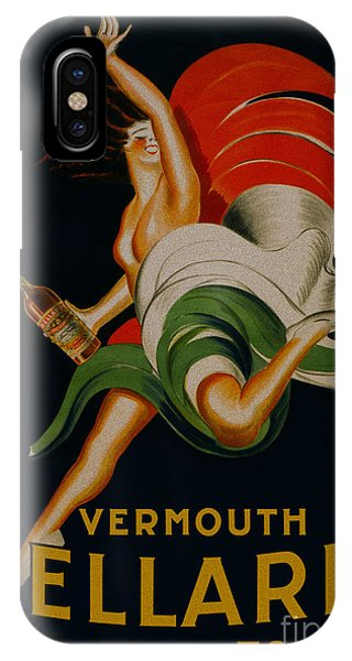 Vermouth Bellardi Torino Vintage Poster IPhone Case