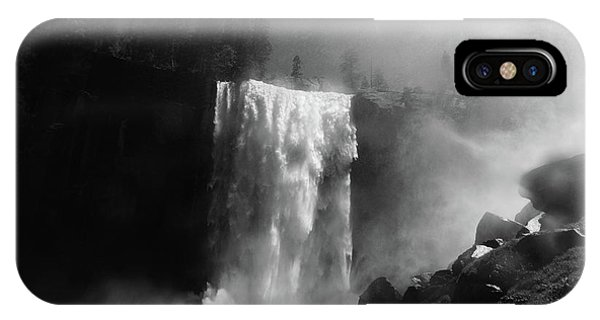 Vernal Fall And Mist Trail IPhone Case