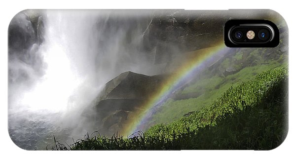 Vernal Falls And Rainbows IPhone Case