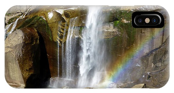 Vernal Falls Mist Trail IPhone Case