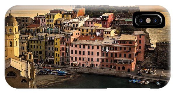 Vernazza At Sunset IPhone Case