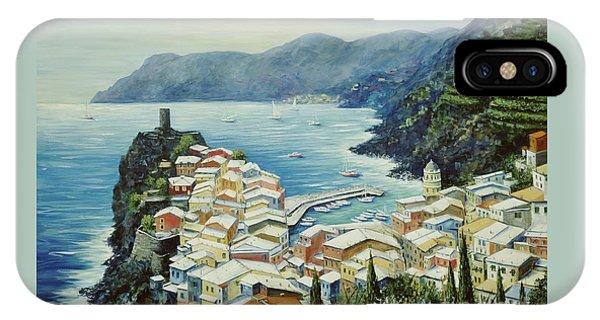 Vernazza Cinque Terre Italy IPhone Case