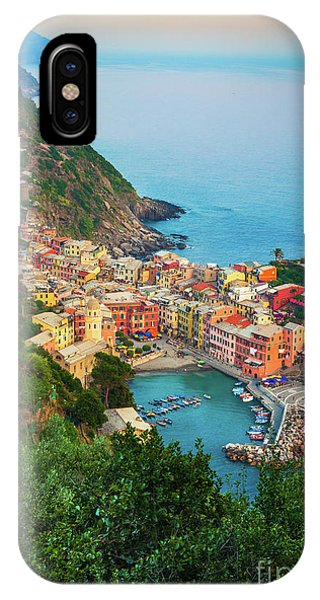 Exterior iPhone Case - Vernazza From Above by Inge Johnsson