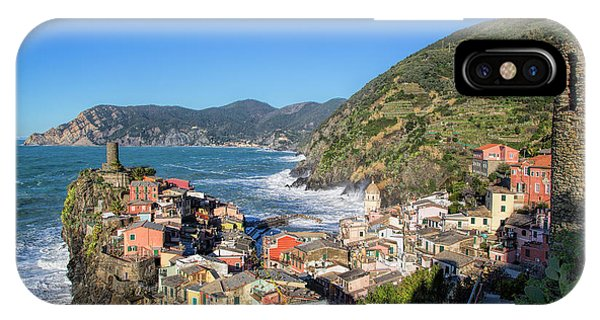 Vernazza In Cinque Terre IPhone Case
