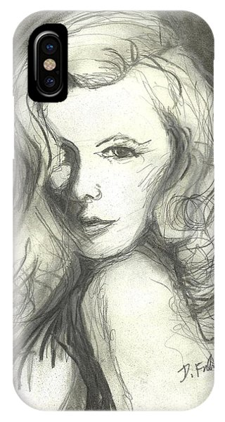 Veronica Lake IPhone Case