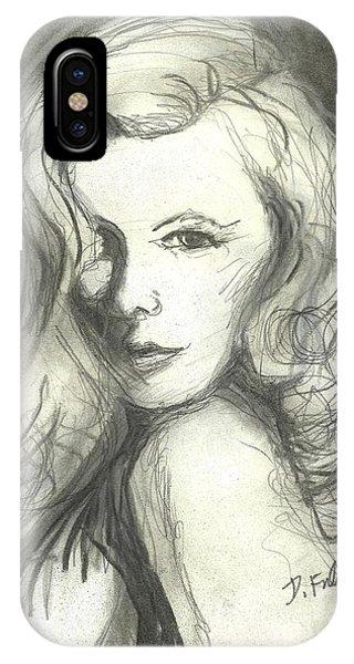 Veronica Lake IPhone Case