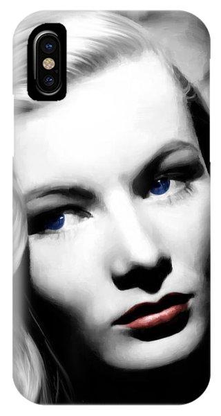 Veronica Lake Portrait #1 IPhone Case