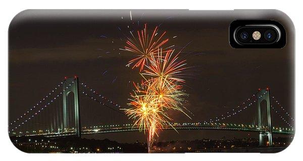 Verrazano Narrows Bridge At 50 Years Old IPhone Case