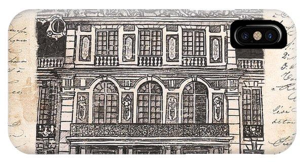 Castle iPhone Case - Versailles by Debbie DeWitt