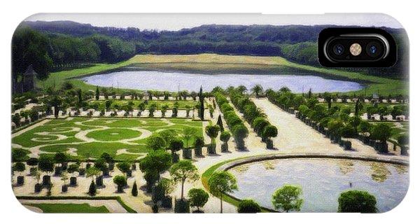 Versailles Digital Paint IPhone Case