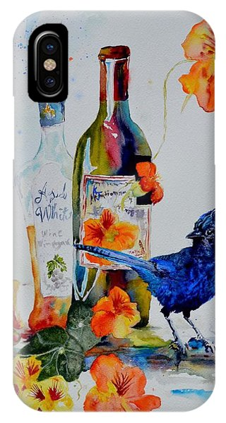 Still Life With Steller's Jay IPhone Case