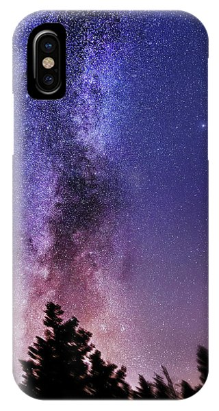 Vertical Milky Way IPhone Case