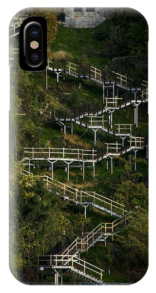 Vertical Stairs IPhone Case