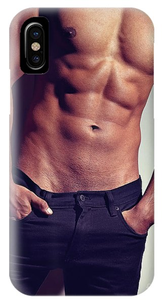 Very Sexy Man With Great Body IPhone Case