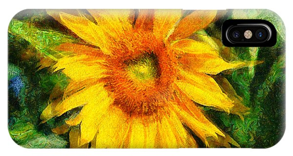 Very Wild Sunflower IPhone Case