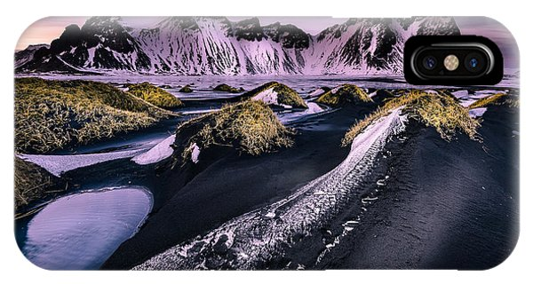 Vestrahorn, South Iceland IPhone Case