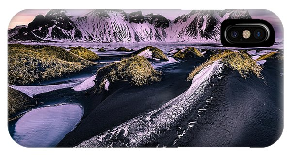 Vestrahorn, South Iceland IPhone Case
