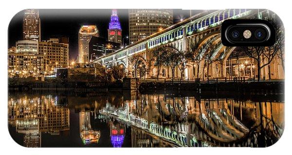 Veterans Memorial Bridge IPhone Case
