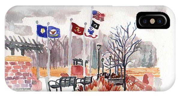 Veteran's Memorial Park IPhone Case