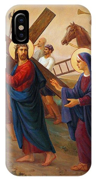 Via Dolorosa - The Way Of The Cross - 4 Phone Case by Svitozar Nenyuk