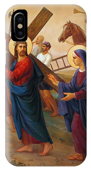 Messiah iPhone Case - Via Dolorosa - The Way Of The Cross - 4 by Svitozar Nenyuk