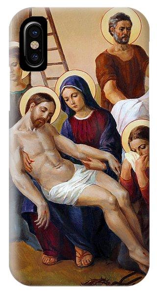 Messiah iPhone Case - Via Dolorosa - Way Of The Cross - 13 by Svitozar Nenyuk