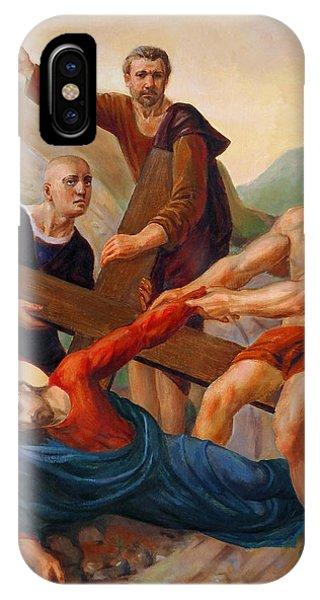 Messiah iPhone Case - Via Dolorosa - Way Of The Cross - 9 by Svitozar Nenyuk