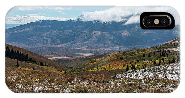 Vibrance Of The Storm Idaho Landscape Art By Kaylyn Franks IPhone Case