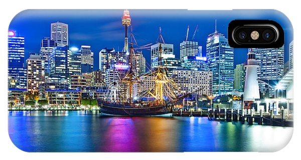 Vibrant Darling Harbour IPhone Case