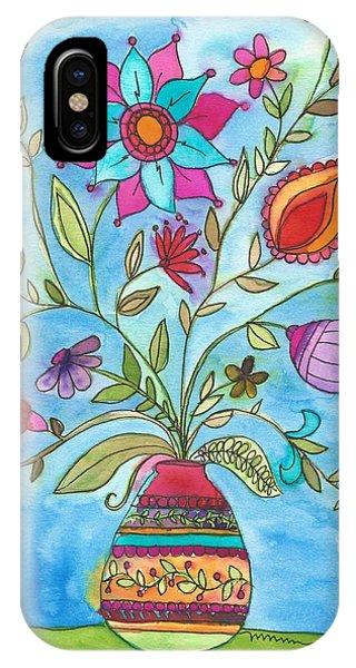 Vibrant Floral IPhone Case