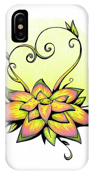 Vibrant Flower 8 IPhone Case